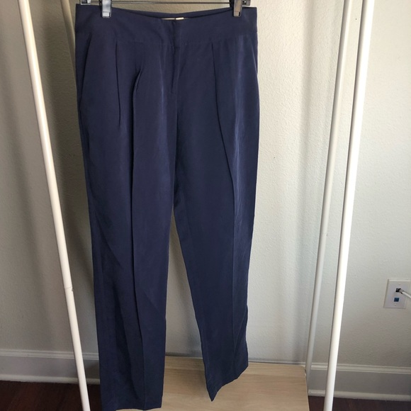 Anthropologie Pants - Daughters of the Liberation Blue Tapered Trousers